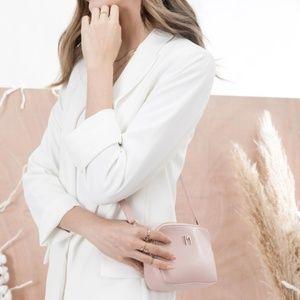 Melie Bianco Bags - Emilia Blush Crossbody by Melie Bianco